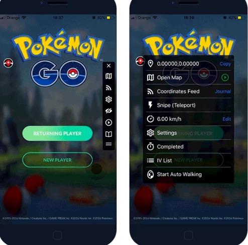 iSpoofer Pokemon Go Hack iOS